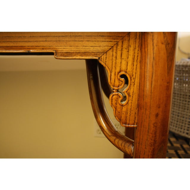 McGuire Asian Antique Chinese Console Table - Image 5 of 10