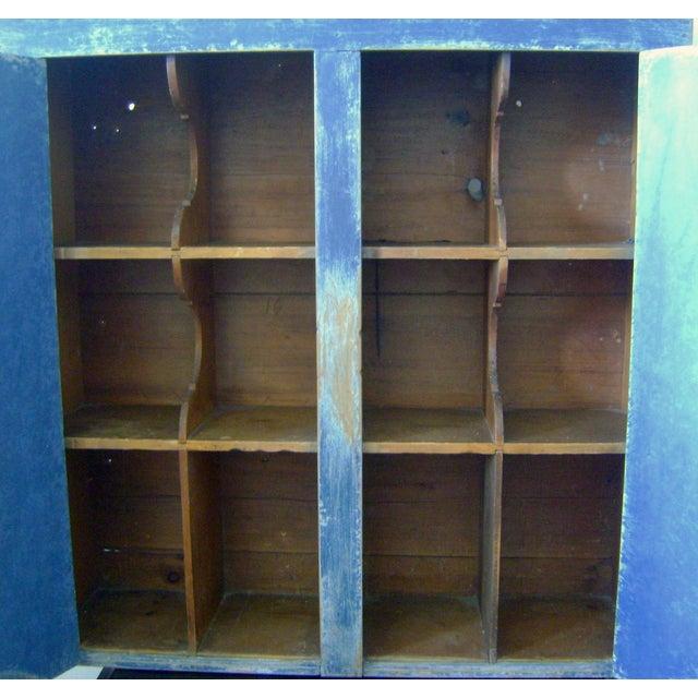Antique Handmade Pine Hanging Cabinet - Image 8 of 9