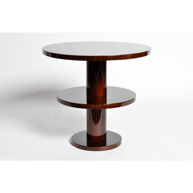 Art Deco Art Deco Style Round Table For Sale - Image 3 of 11