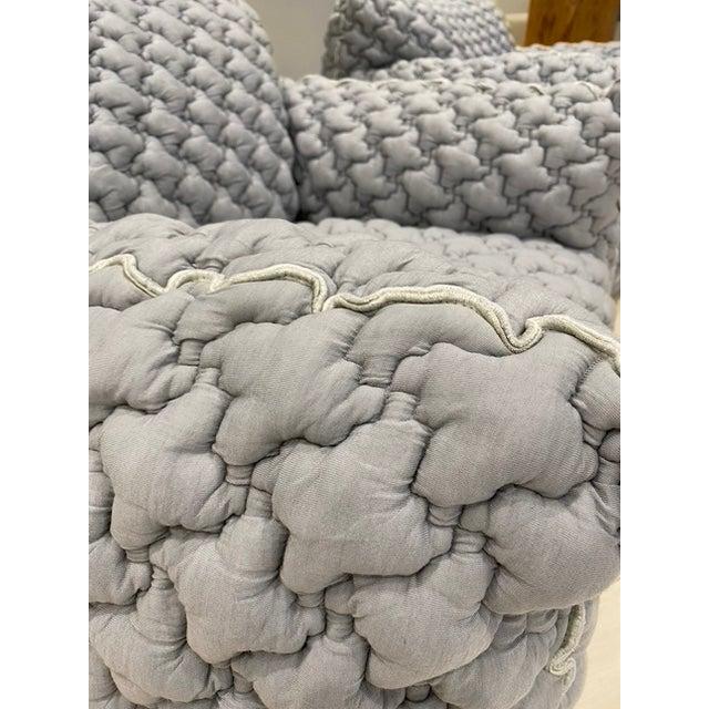 Italian Gervasoni Nuvola Armchairs - a Pair For Sale - Image 9 of 10