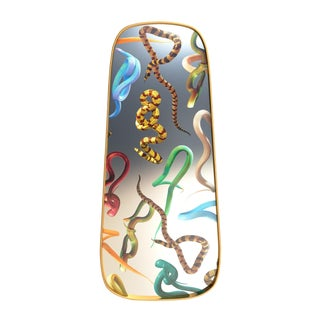 Seletti, Snakes Mirror, Long, Toiletpaper, 2018 For Sale