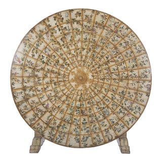 Continental Painted Wood Tilt-Top Table For Sale
