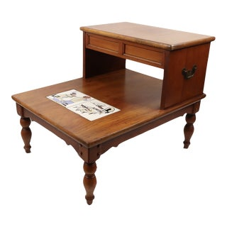 Vintage Lane Furniture Mid-Century Modern Tile Side Table For Sale