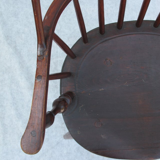 New England Bow-Back Windsor Arm Chair - Image 10 of 10