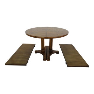 Drexel Accolade Pedestal Dining Table For Sale