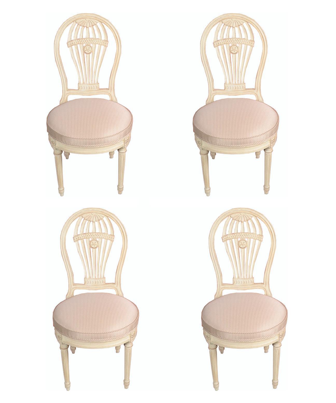 Maison Jansen Balloon Chairs   Set Of 4