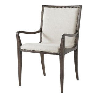 Mid Century Modern Style Dining Armchair For Sale