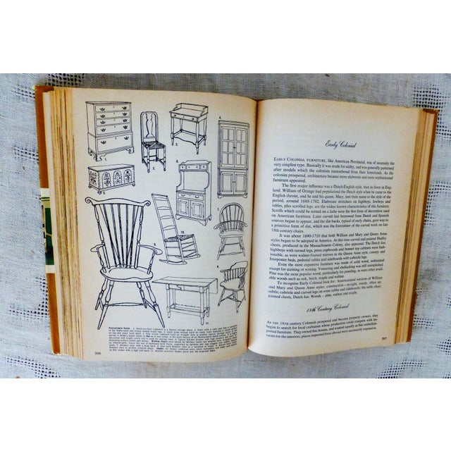 "Yellow Barbara Taylor Bradford ""Complete Encyclopedia of Homemaking Ideas"" Book For Sale - Image 8 of 11"
