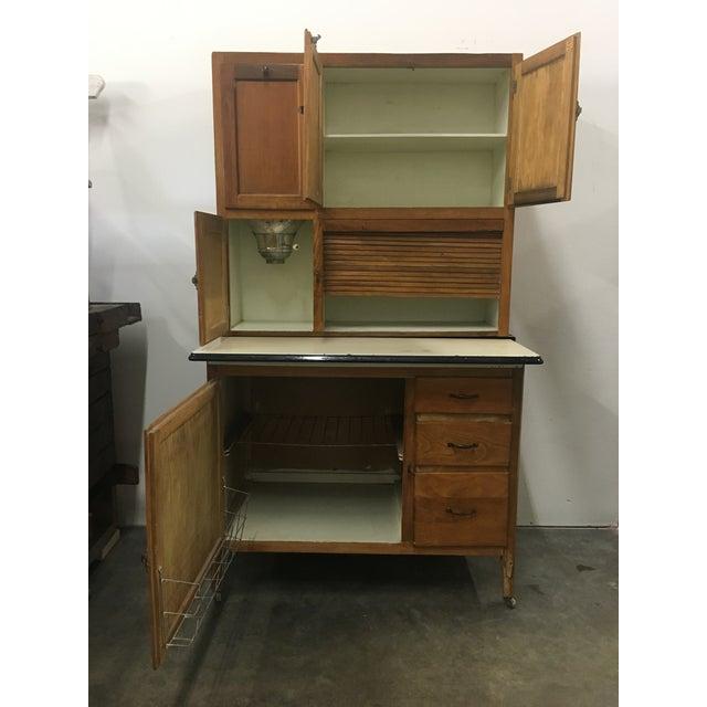 Hoosier Kitchen Cabinet: Baker's Hoosier Kitchen Cabinet With Flour Sifter