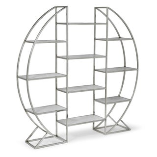 Contemporary Regina Andrew Co. Hoop Etagere For Sale