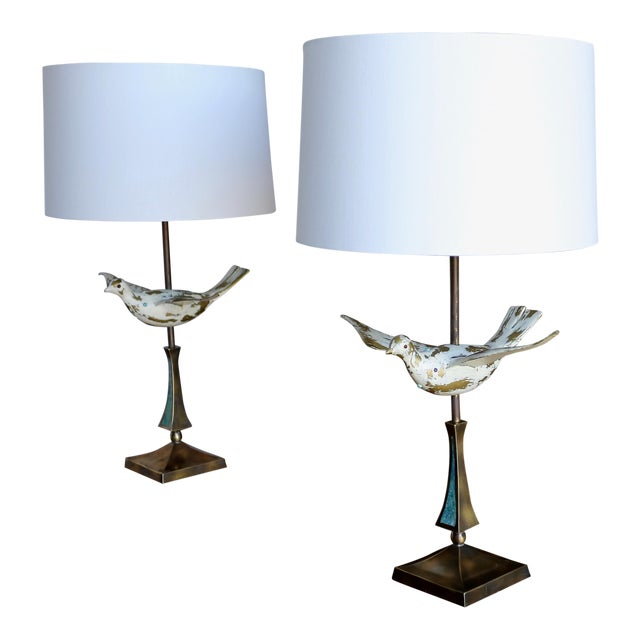 Mid Century Pepe Mendoza Table Lamps - a Pair For Sale