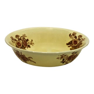 "Antique Staffordshire ""Charlotte"" Vegetable Bowl For Sale"