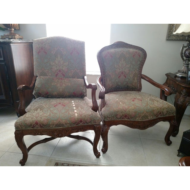 Bernhardt Living Room Chairs - A Pair For Sale - Image 13 of 13