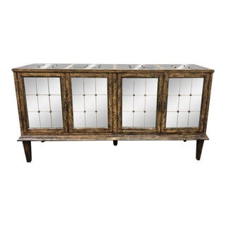 Hooker Furniture DeVera Mirrored Sideboard For Sale