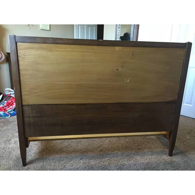 Sligh Vintage Sleigh Full Bed Frame - Image 5 of 11