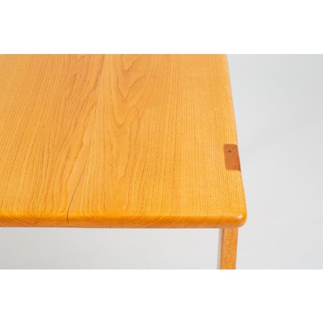 Studio Craft Console Table in American Oak For Sale - Image 11 of 13