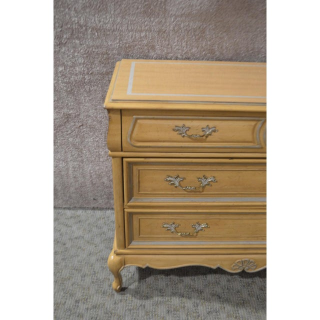 Vintage American of Martinsville Country French Three Drawer Chest