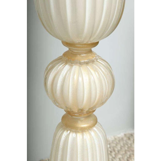 Glass Murano Glass Floor Vases - A Pair For Sale - Image 7 of 10