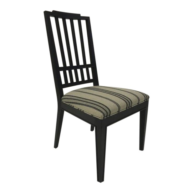 Century Furniture Casa Bella Slat Back Dining Side Chair For Sale