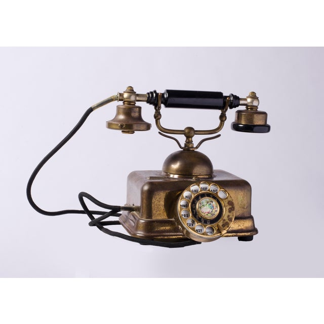 A brass authentic time period rotary, probably from the thirties. Both a classic and modern look, in its simplicity, this...