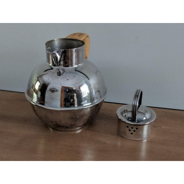 A delightful little milk creamer/tea pot modeled after the Isle of Guernsey famous copper milk cans. This roly poly little...