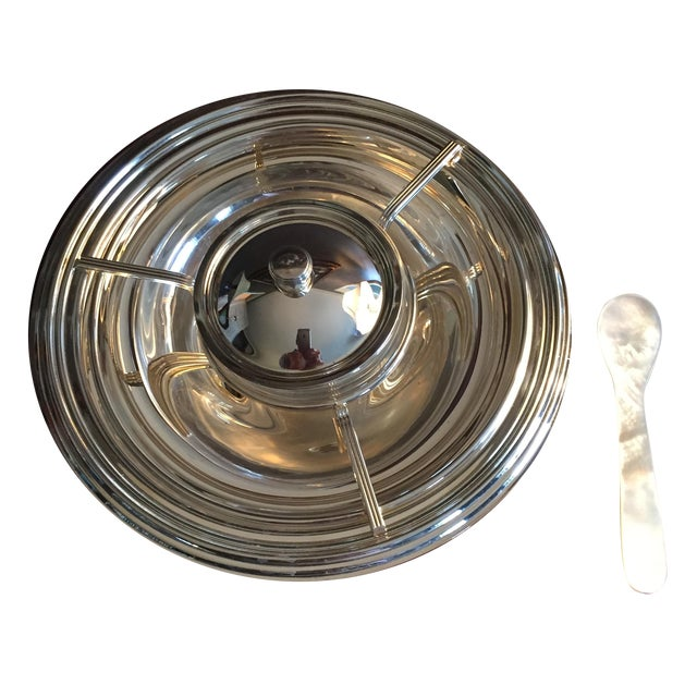 Gorham Silver Plated Caviar Serving Set - S/5 - Image 1 of 3