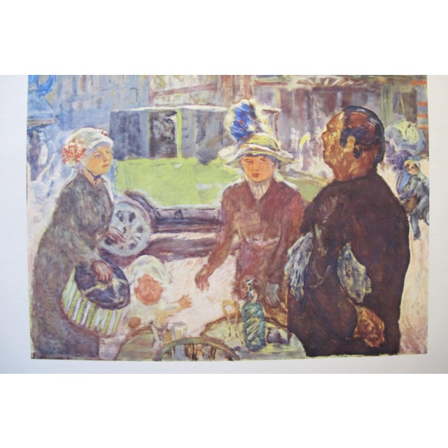 Date: 1955 Size: 19.75 x 26.6 inches Artist: Pierre Bonnard This original French poster was created for a 1955 exhibition...