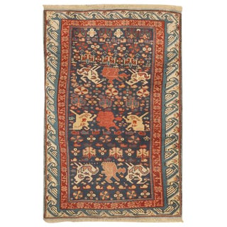 Antique 19th Century Caucasian Seychor Rug For Sale