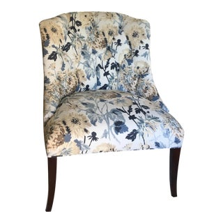 Wing/Club Chair by Thibaut For Sale