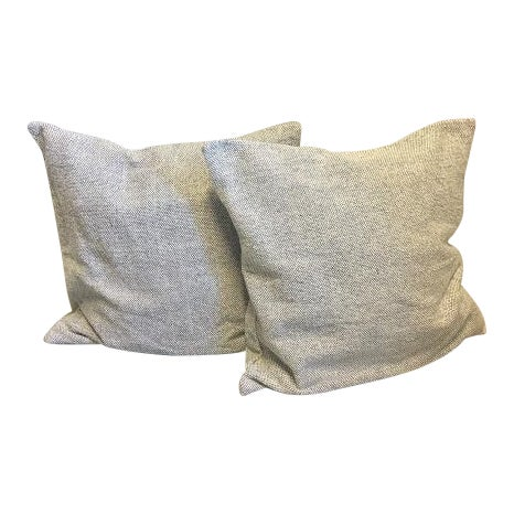 Contemporary Jaipur Living Seed Pearl Pillow Covers - a Pair For Sale