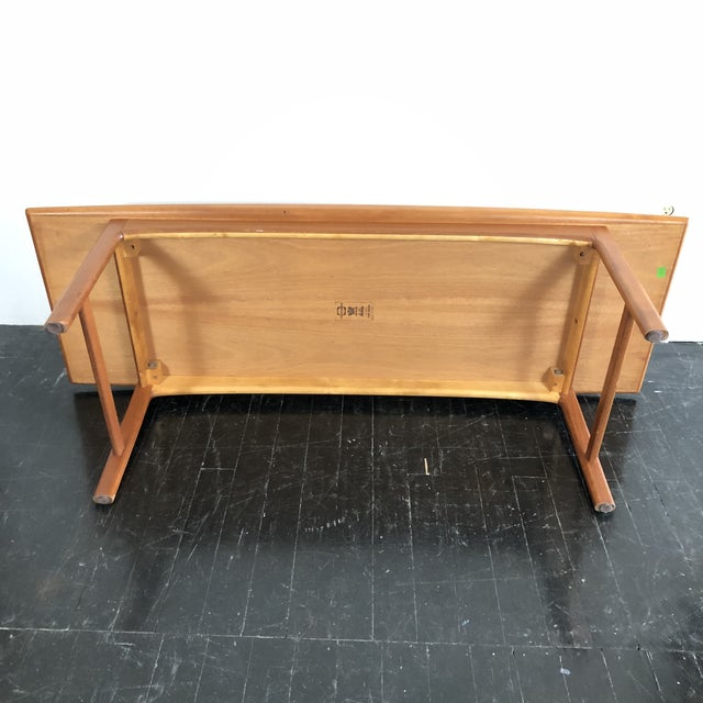 1960's Teak Frisco Surfboard Coffee Table by Folke Ohlsson For Sale - Image 9 of 13