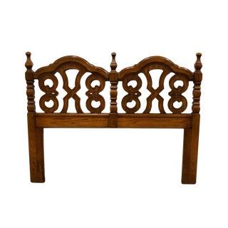 Spanish Thomasville Furniture Queen Size Headboard For Sale