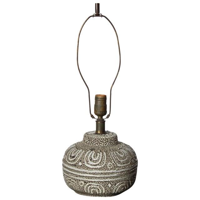 Design Technics Textured Ceramic Table Lamp - Image 1 of 7