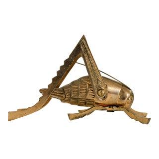 Brass Grasshopper For Sale