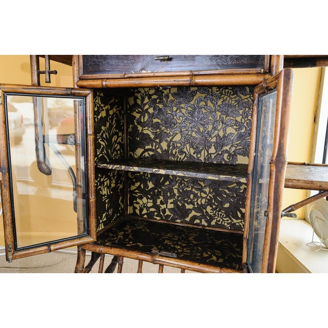 Bamboo cabinet For Sale - Image 9 of 11