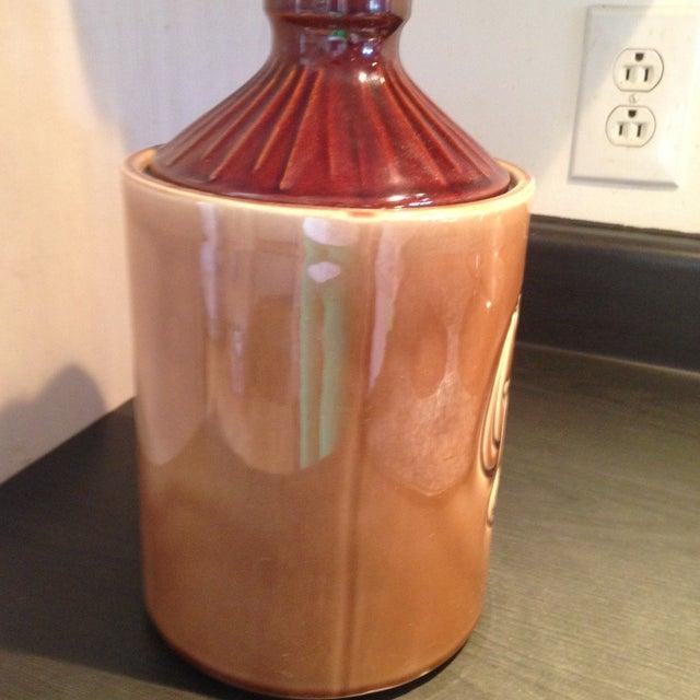 McCoy Vintage Brown Ceramic Cookie Jar - Image 4 of 8