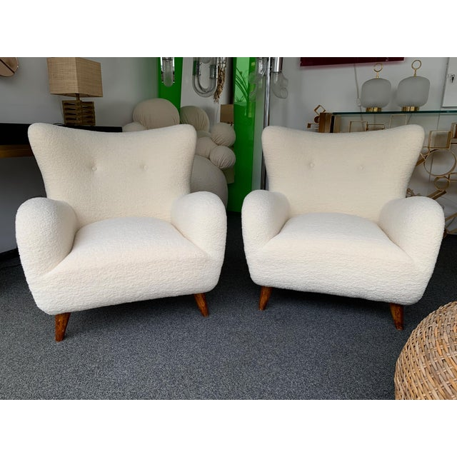 1950s Italian Armchairs by Melchiorre Bega - a Pair For Sale - Image 13 of 13