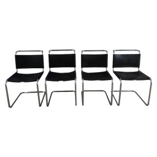Marcel Breuer Spoleto Chairs for Knoll - Set of 4