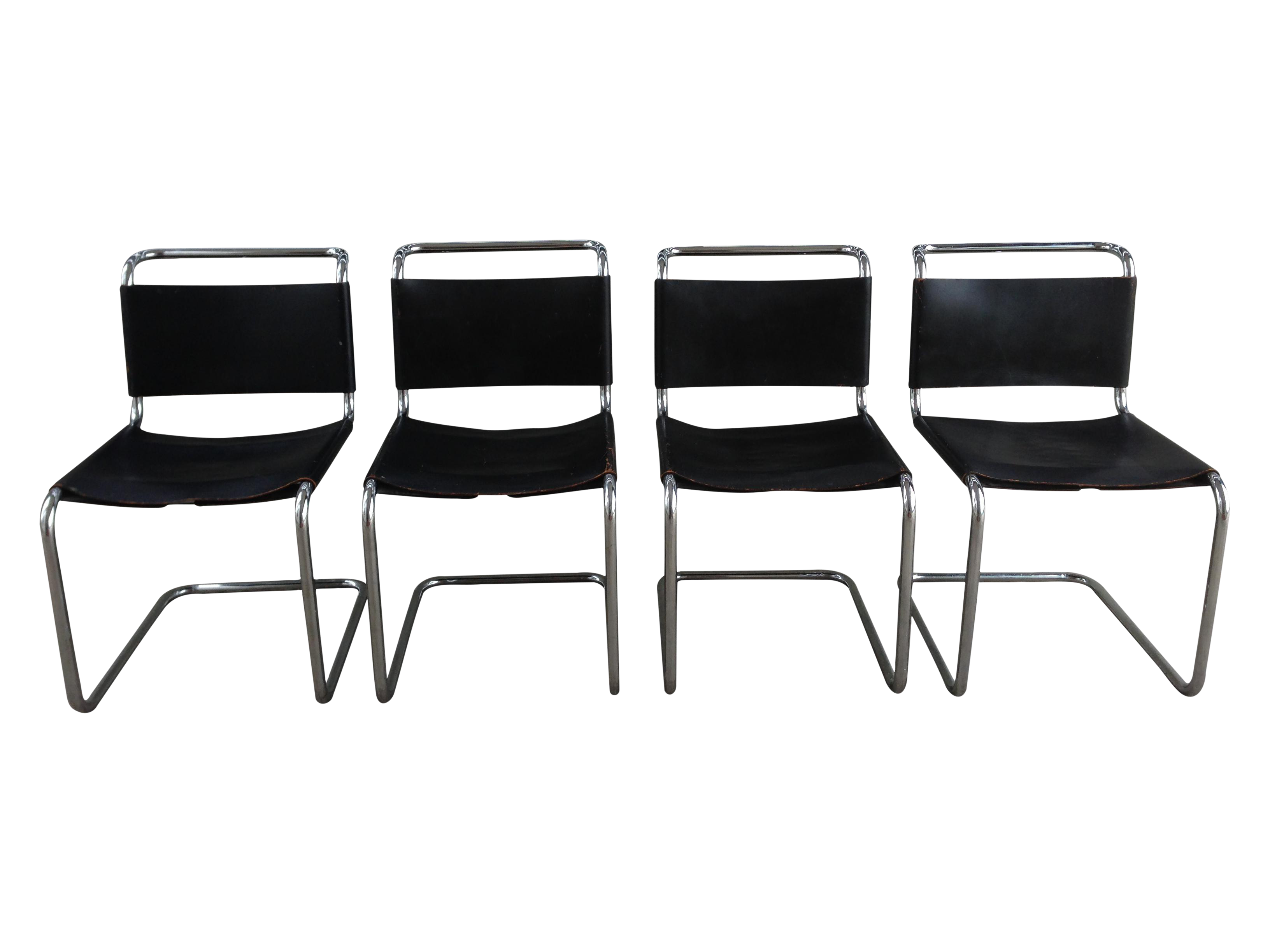 Marcel Breuer Spoleto Chairs For Knoll   Set Of 4