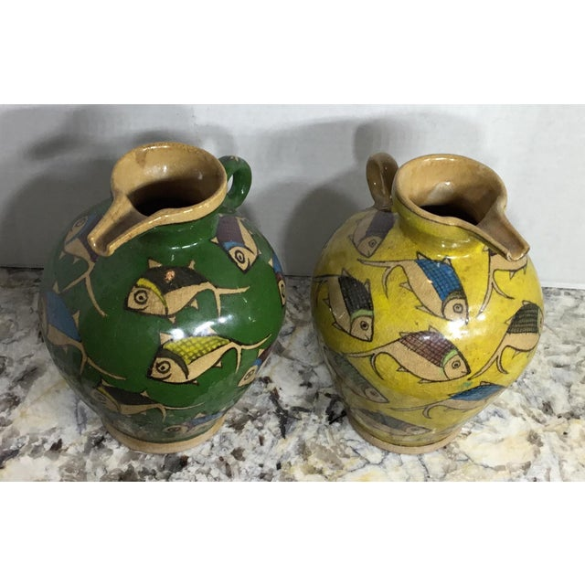 Vintage Persian Ceramic Vessels - A Pair - Image 7 of 11