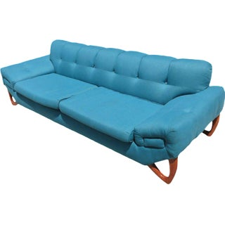 Mid-Century Modern Sofa in the Manner of Adrian Pearsall For Sale