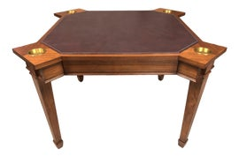 Image of Maroon Accent Tables