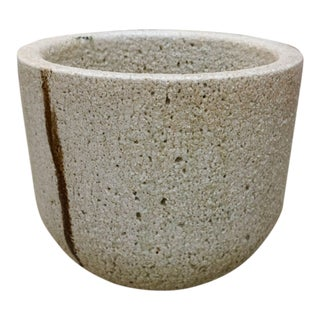 Ceramic and Glass Crucible or Planter For Sale