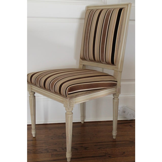 Louis XVI Louis XVI Style Dining Chairs - Set of 6 For Sale - Image 3 of 8