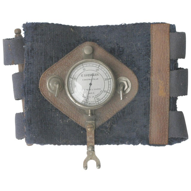 Antique 1920s French Blood Pressure Cuff - Image 1 of 3