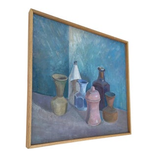 Original Oil Still Life by Accomplished Artist, Katya Kompaneyets For Sale