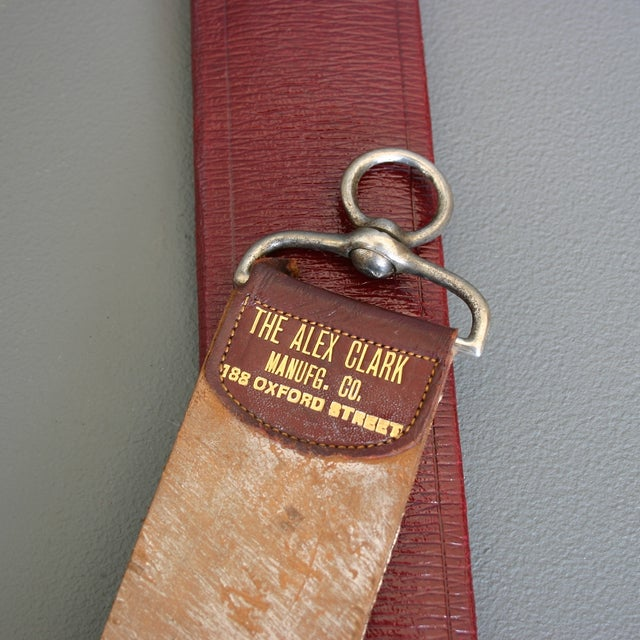 Antique Barber's Razor Strop From England - Image 4 of 7