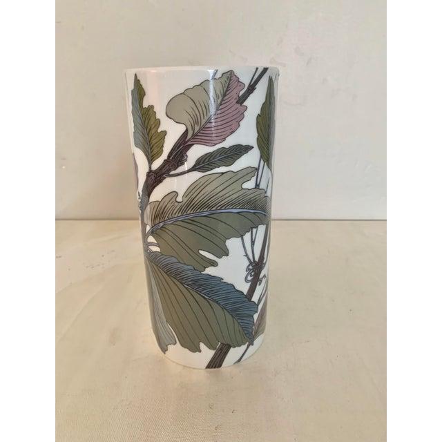 Rosenthal Germany Studio Line Large Gilt Botanical Vase For Sale In San Diego - Image 6 of 10