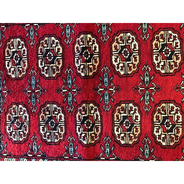 "Hand Woven Bukhara Oriental Rug - 2'1"" X 2'11"" - Image 4 of 5"