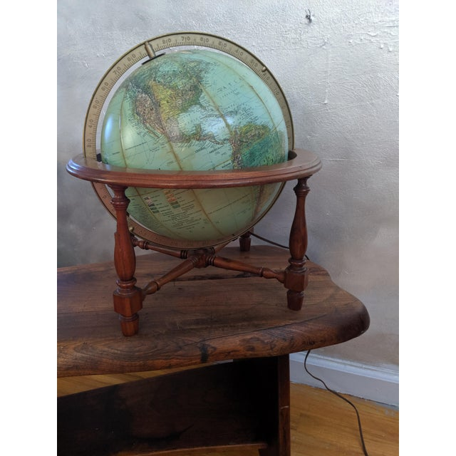 Mid 20th Century Mid Century Modern Reploge Globe Table Lamp For Sale - Image 5 of 6